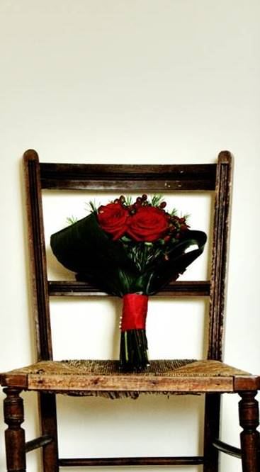 Roses & chair